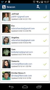 Capture d'écran Beacon: Phone Tracker