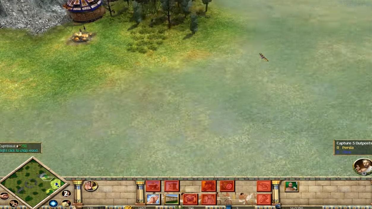 Capture d'écran Rise & Fall: Civilizations at War