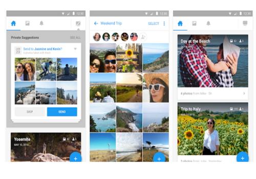 Capture d'écran Moments Android