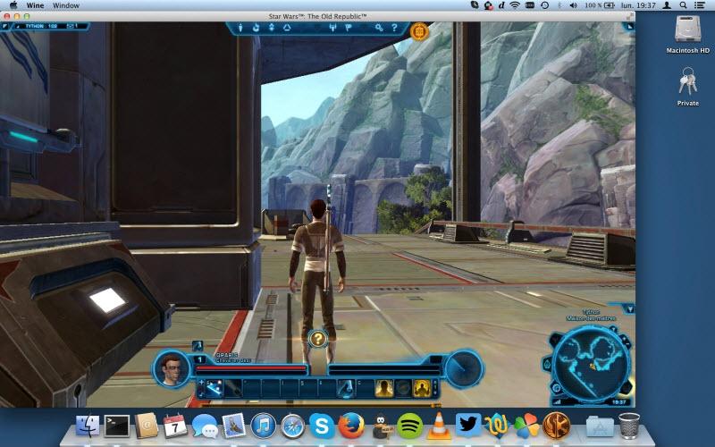 Capture d'écran PlayOnMac