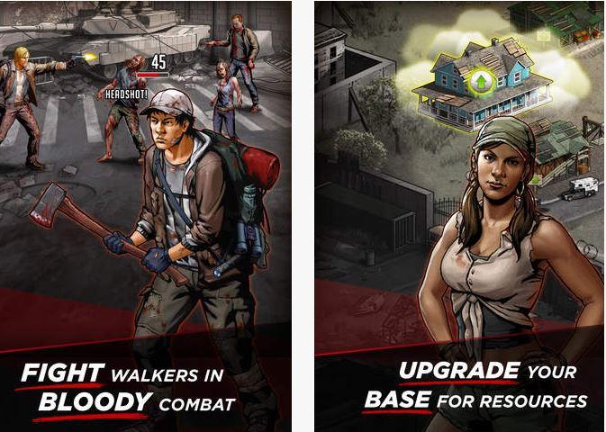 Capture d'écran The Walking Dead : Road to Survival iOS