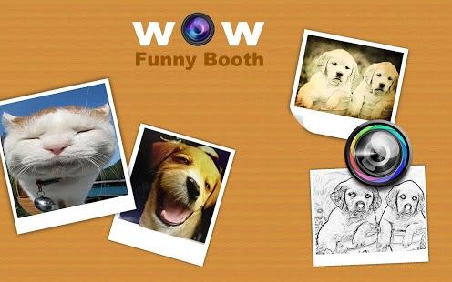 Capture d'écran Funny Photo Booth