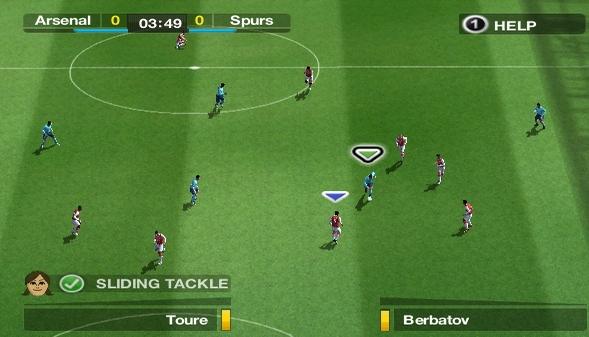 Capture d'écran FIFA 08