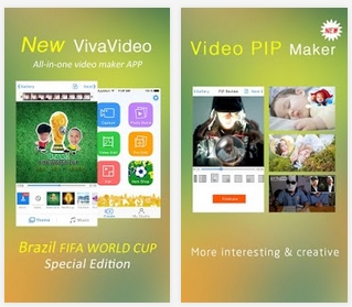 Capture d'écran VivaVideo Android