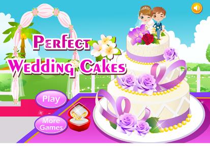Capture d'écran Mariage parfait gâteau HD