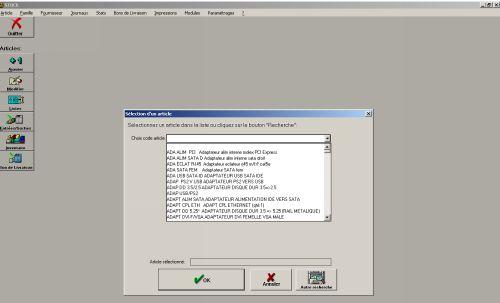 Capture d'écran CMI Stock