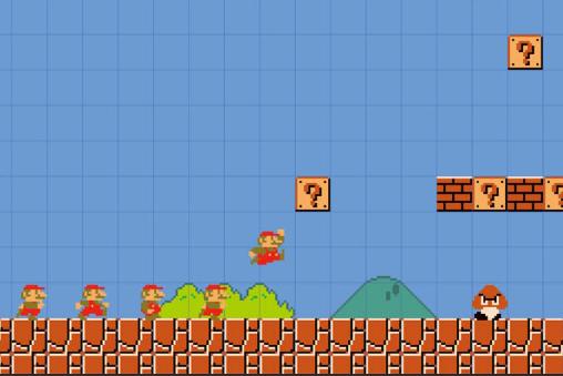 Capture d'écran Super Mario Maker Booklet