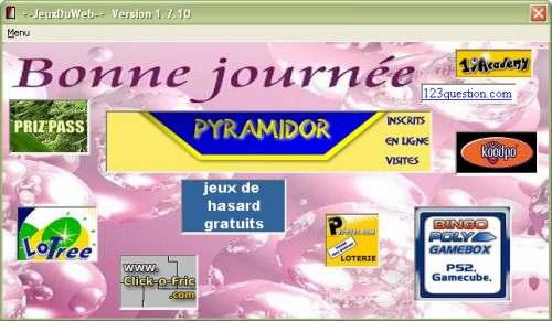 Capture d'écran JeuxDuNet
