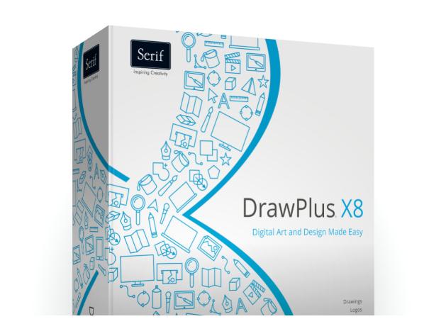 Capture d'écran Serif DrawPlus X8