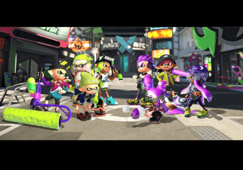 Capture d'écran Splatoon iOS