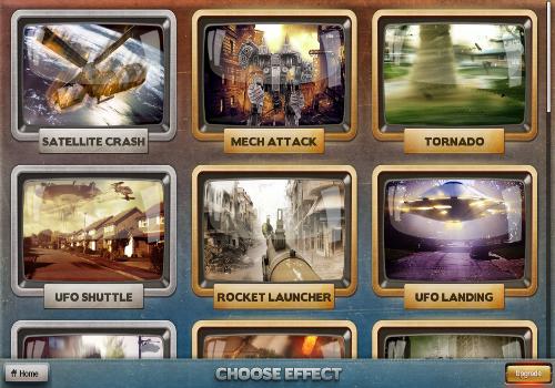 Capture d'écran FxGuru : Movie Fx Director iOS