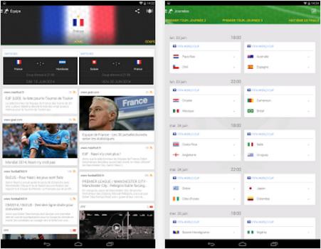 Capture d'écran Onefootball Brésil Android