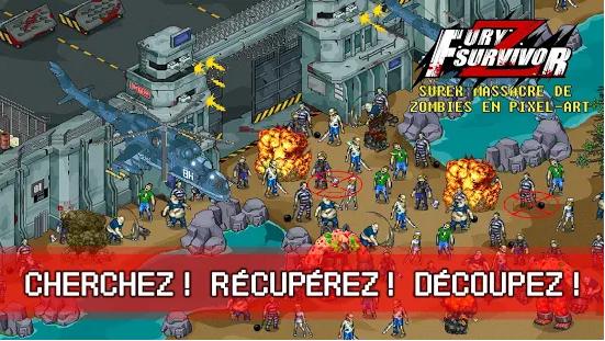 Capture d'écran Fury Survivor: Pixel Z Android