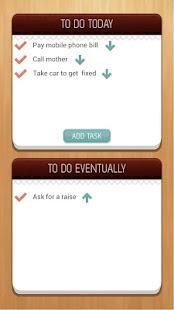 Capture d'écran To Do List Simplified