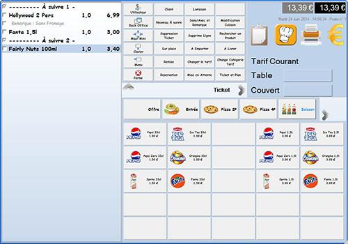 Capture d'écran GAD Restaurant