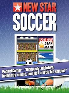 Capture d'écran New Star Soccer