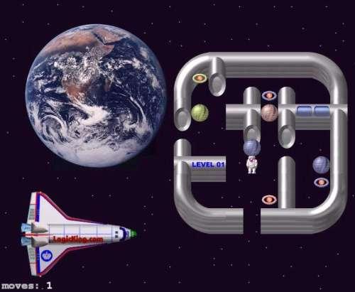 Capture d'écran Space Docker Sokoban