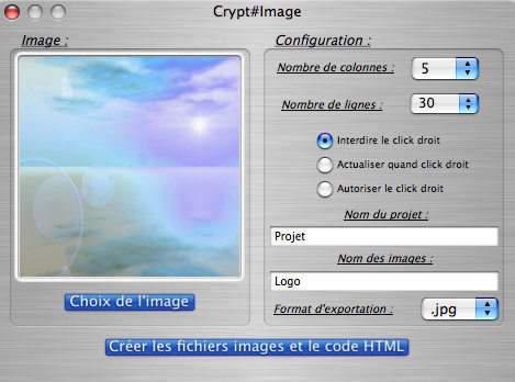 Capture d'écran Crypt#Image