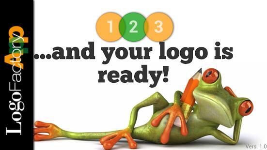 Capture d'écran LogoFactoryApp – Logo Maker