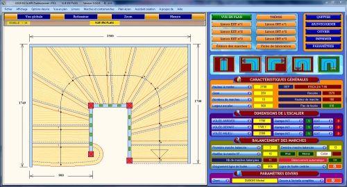 Capture d'écran LOGI-ESCALIER-PROFESSIONNEL