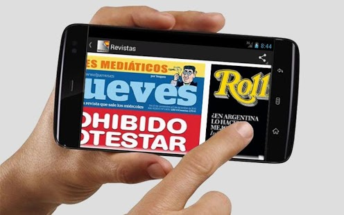 Capture d'écran Revistas de España