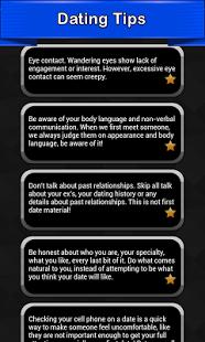 Capture d'écran Dating Tips