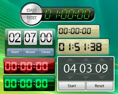 Capture d'écran Free Desktop Timer