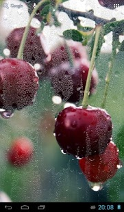 Capture d'écran Rain behind glass