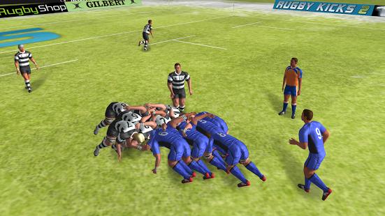Capture d'écran Rugby Nations 15