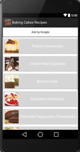 Capture d'écran La cuisson de gâteaux