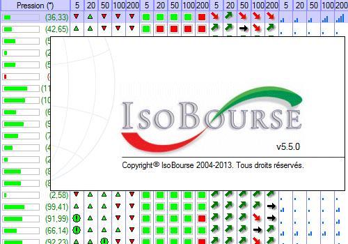 Capture d'écran IsoBourse