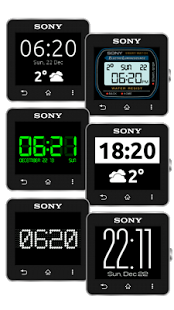 Capture d'écran Watch Faces for SmartWatch 2