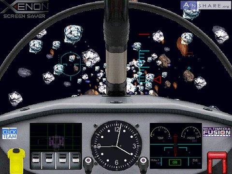 Capture d'écran XENON 3D SCREEN SAVER