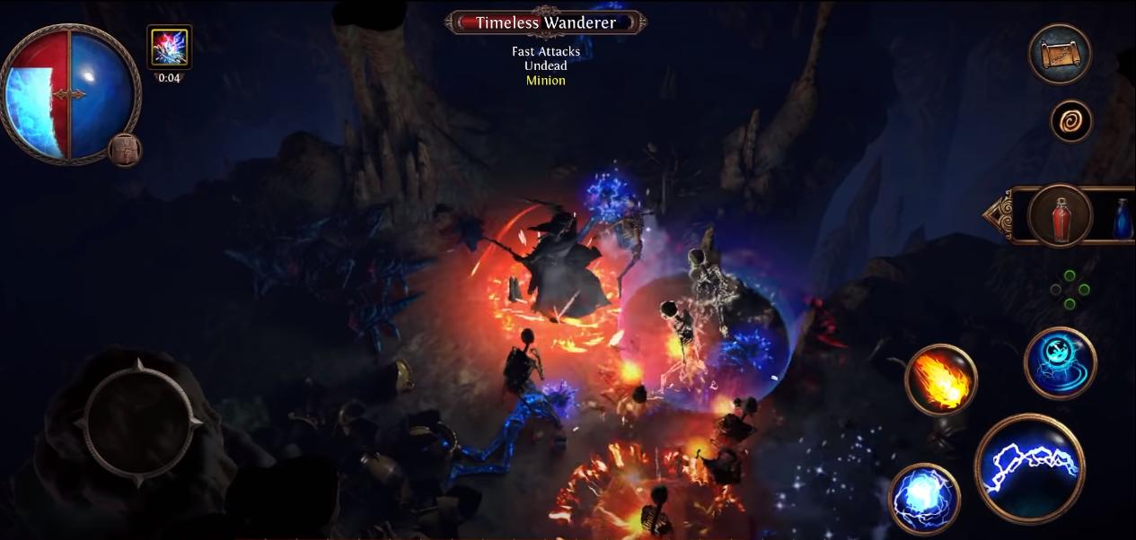 Capture d'écran Path of Exile Mobile