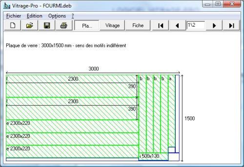 Capture d'écran VitragePro