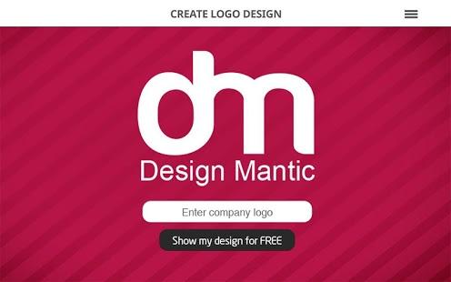 Capture d'écran Logo Maker by DesignMantic