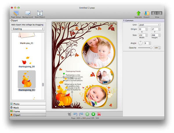 Capture d'écran Picture Collage Maker Mac