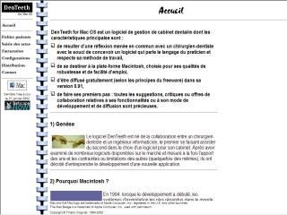 Capture d'écran DenTeeth for Mac OS