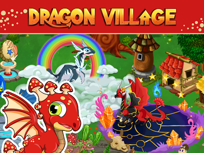 Capture d'écran DRAGON VILLAGE -city sim mania