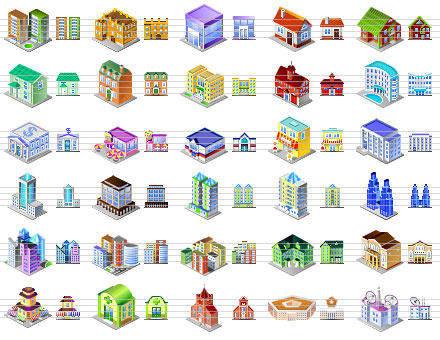 Capture d'écran Desktop Building Icons
