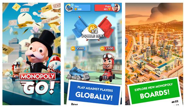 Capture d'écran Monopoly Go Android