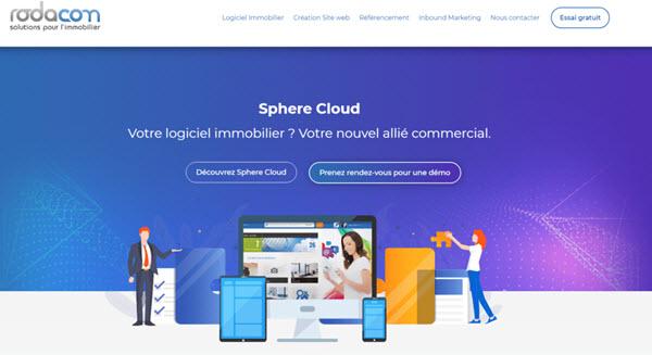 Capture d'écran Sphere Cloud