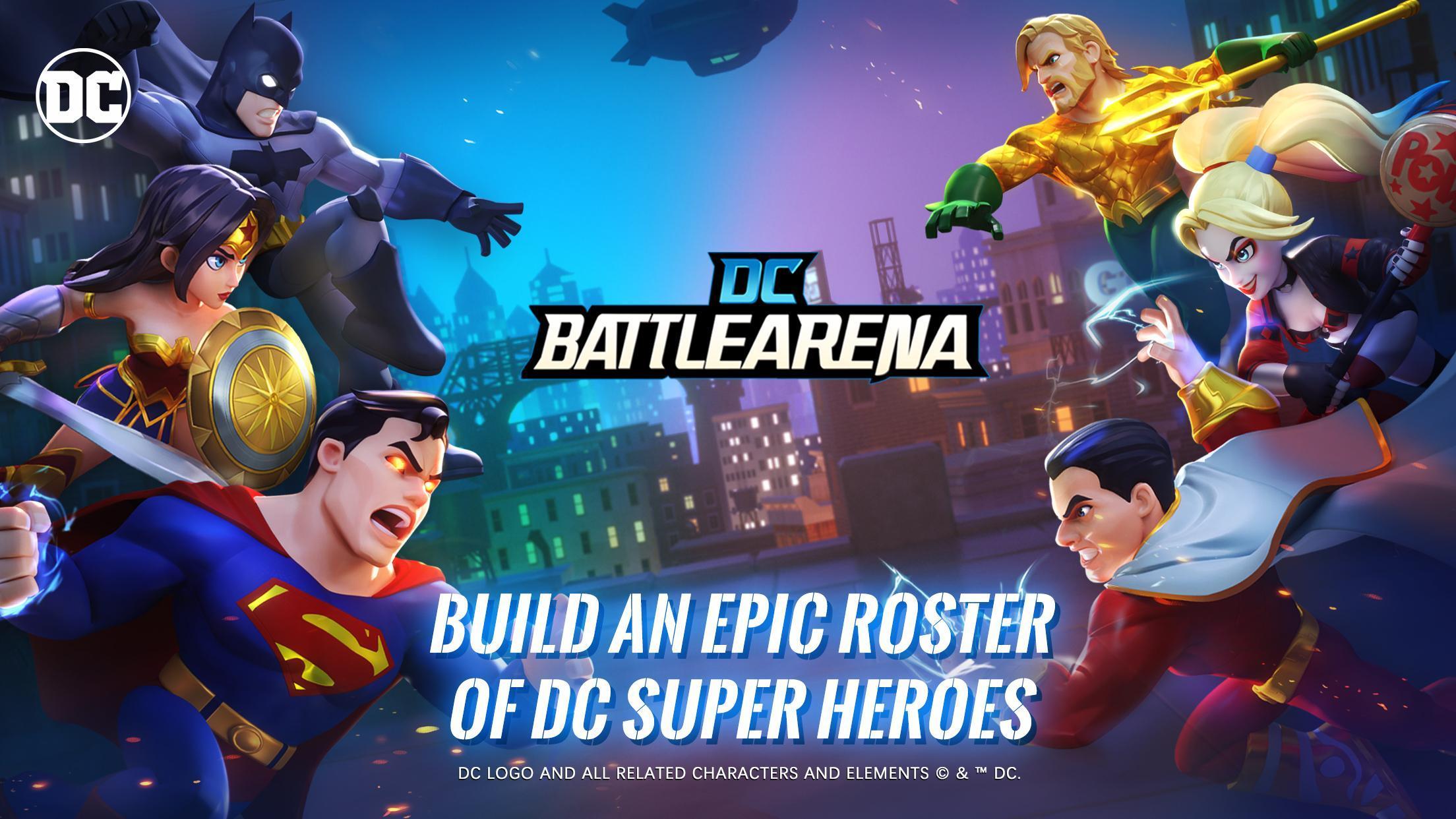 Capture d'écran DC Battle Arena Android