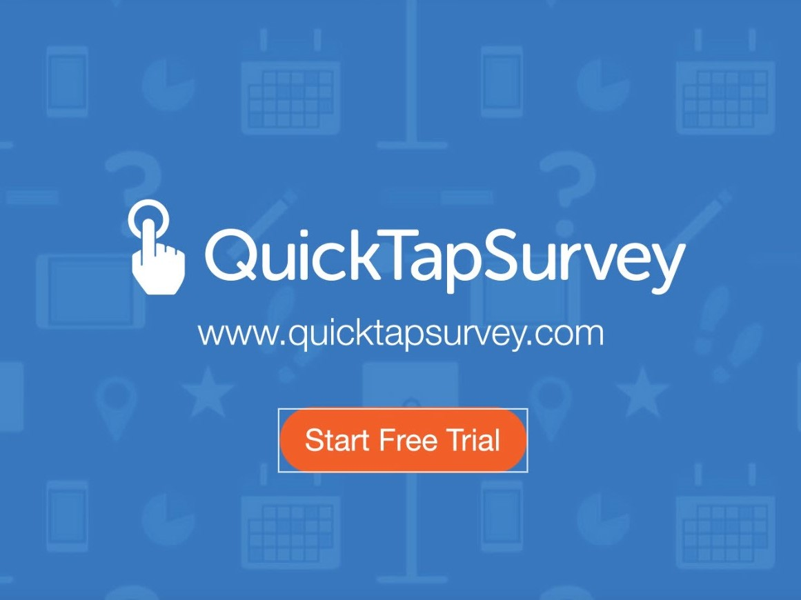 Capture d'écran QuickTapSurvey