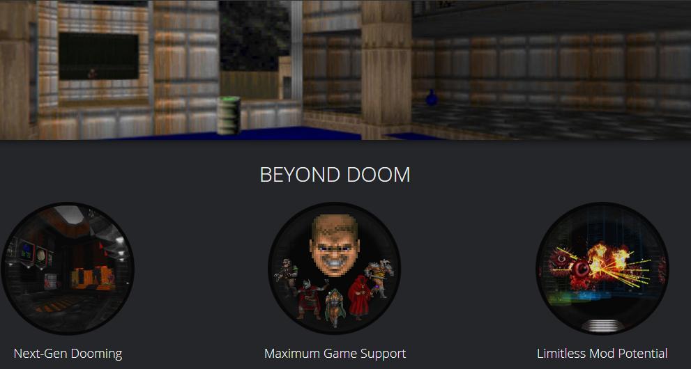 Capture d'écran ZDoom