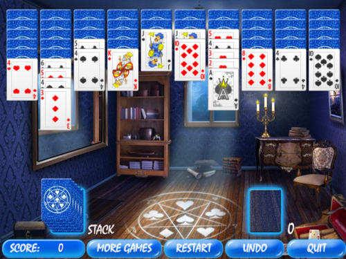 Capture d'écran Magic Room Solitaire