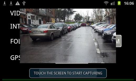 Capture d'écran DashBoard Camera   GPS Tracker
