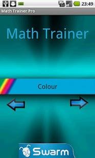 Capture d'écran Entraîneur de maths Pro