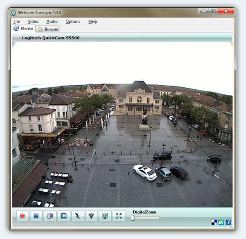 Capture d'écran Webcam Surveyor