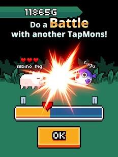 Capture d'écran TapMon Battle